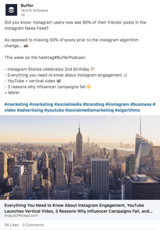 Example of LinkedIn Marketing Strategy